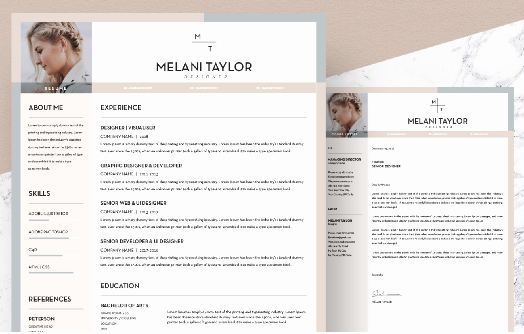 Free Creative Resume Templates Word Fresh Free Creative Resume Template Downloads for 2019