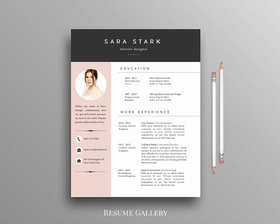 Free Creative Resume Templates Word Inspirational Best 25 Free Cv Template Ideas On Pinterest