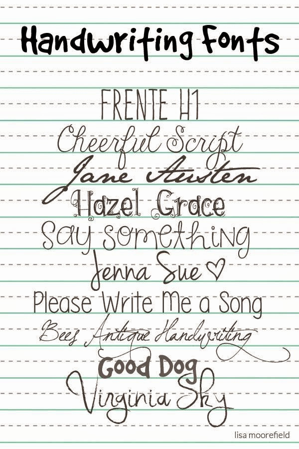 Free Cursive Handwriting Fonts Awesome Selvage Blog Your Own Personal Handwriting Font