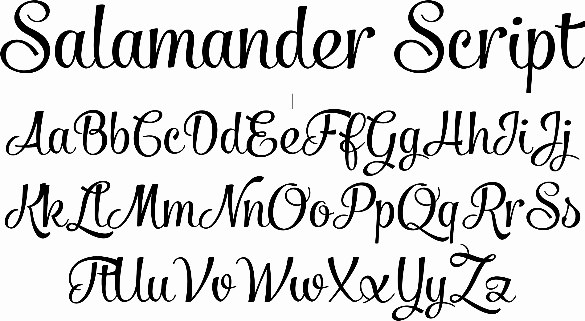 Free Cursive Handwriting Fonts Luxury Script Fonts