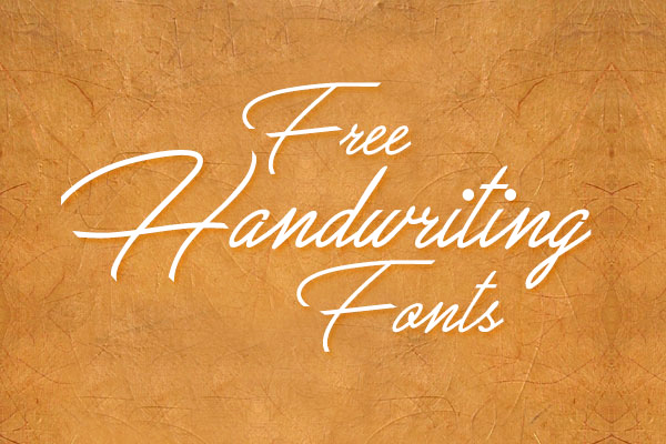 Free Cursive Handwriting Fonts New 10 Best & Beautiful Free Handwriting Script Fonts to