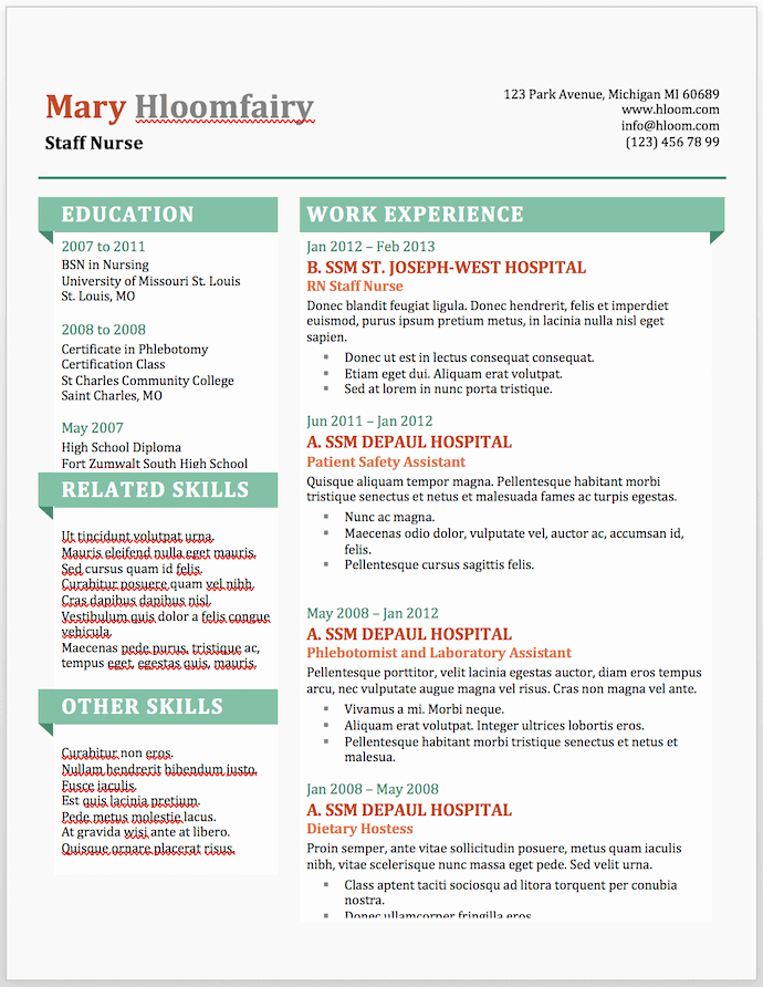 Free Cv Template Word Awesome 19 Free Resume Templates You Can Customize In Microsoft Word