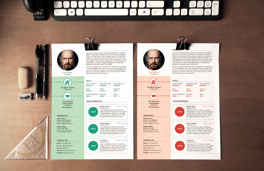 Free Cv Template Word Best Of 65 Eye Catching Cv Templates for Ms Word