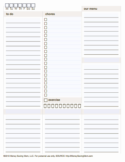 Free Daily Planner Printables Beautiful 10 Free Printable Daily Planners