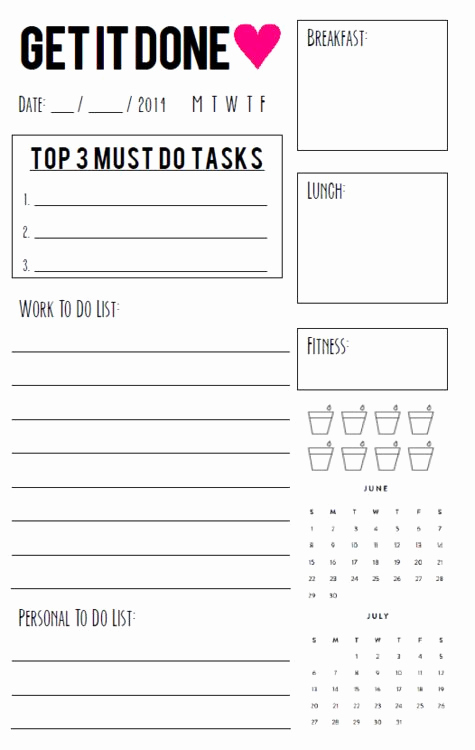 Free Daily Planner Printables New 25 Best Ideas About Daily Planner Pages On Pinterest
