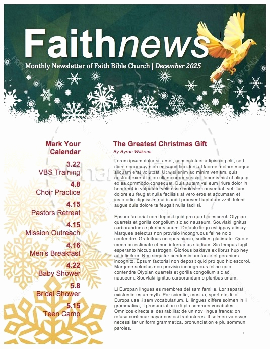 Free Editable Newsletter Templates Beautiful Free Editable Newsletter Templates for Word