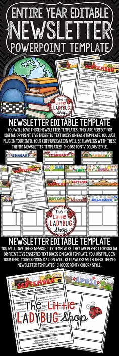 Free Editable Newsletter Templates Inspirational Printable Charts Race Cars theme