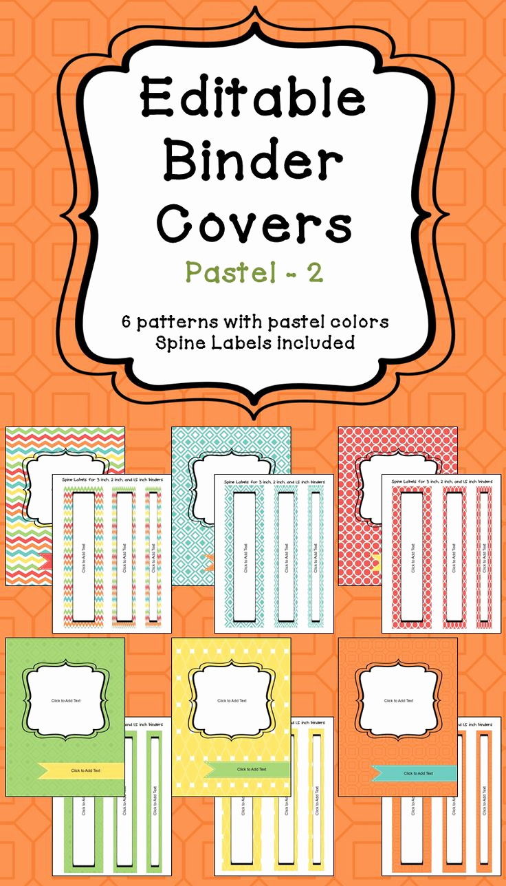 Free Editable Printable Binder Covers Best Of Ly Best 25 Ideas About Binder Spine Labels On Pinterest