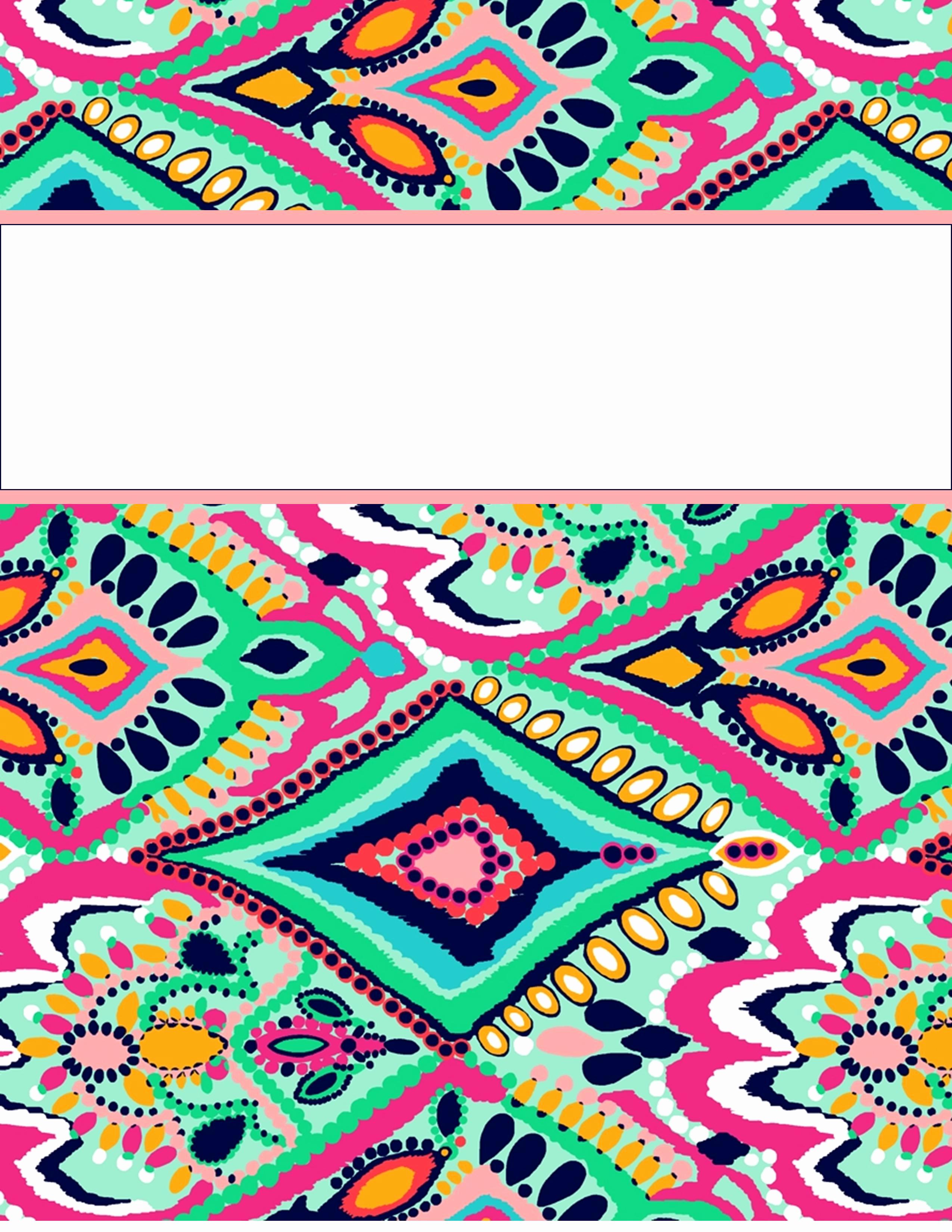 Free Editable Printable Binder Covers Lovely My Cute Binder Covers
