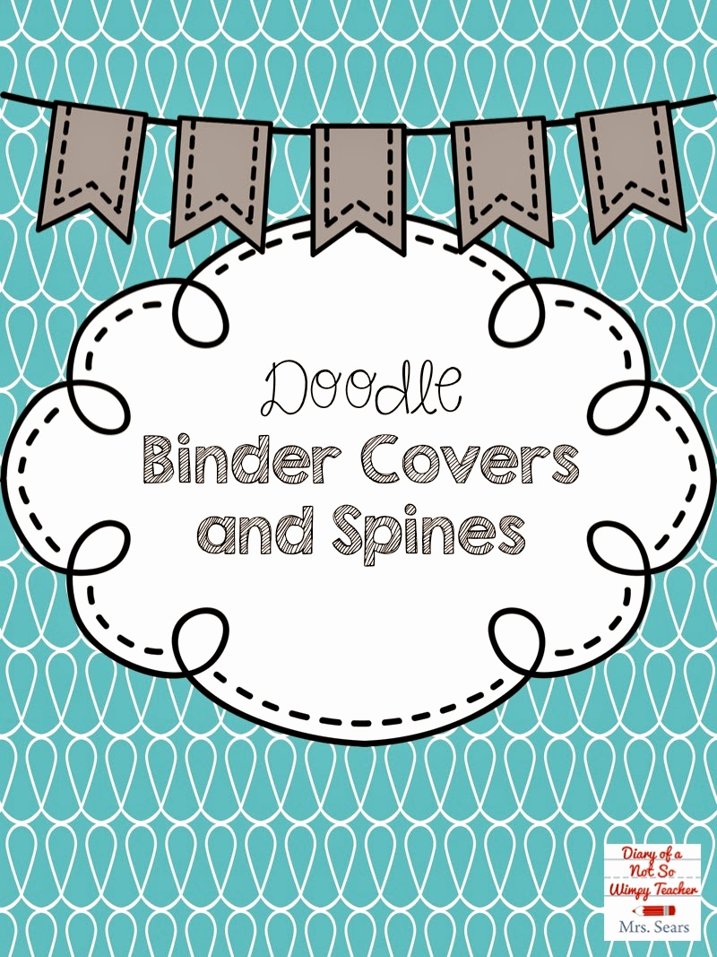Free Editable Printable Binder Covers Luxury Diary Of A Not so Wimpy Teacher Diggin Into Next Year