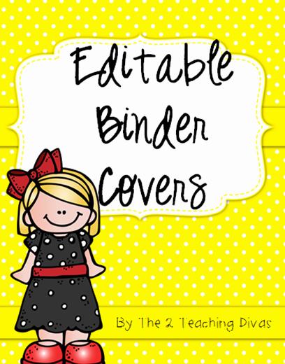 Free Editable Printable Binder Covers New Free Editable Binder Covers Very Cute Follow for