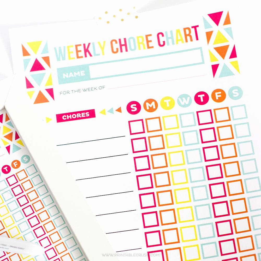 Free Editable Printable Chore Charts Awesome Editable Chore Chart for Kids Printable Crush