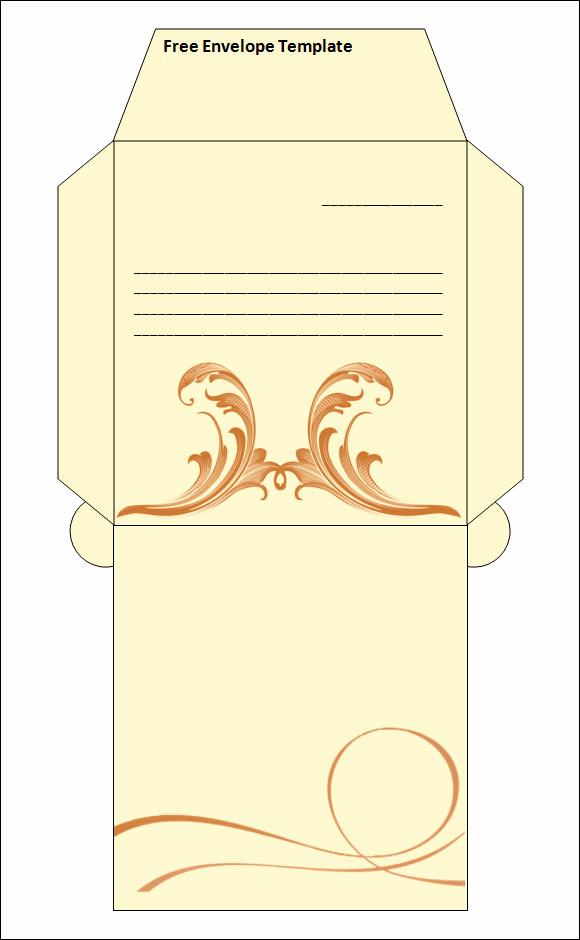 Free Envelope Printing Template Best Of 15 Best Printable Envelope Templates