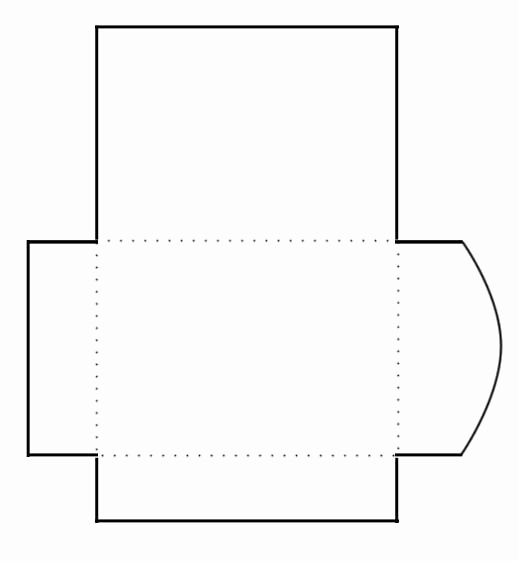 Free Envelope Printing Template Best Of Blank Print and Cut Gift Card Envelope Template