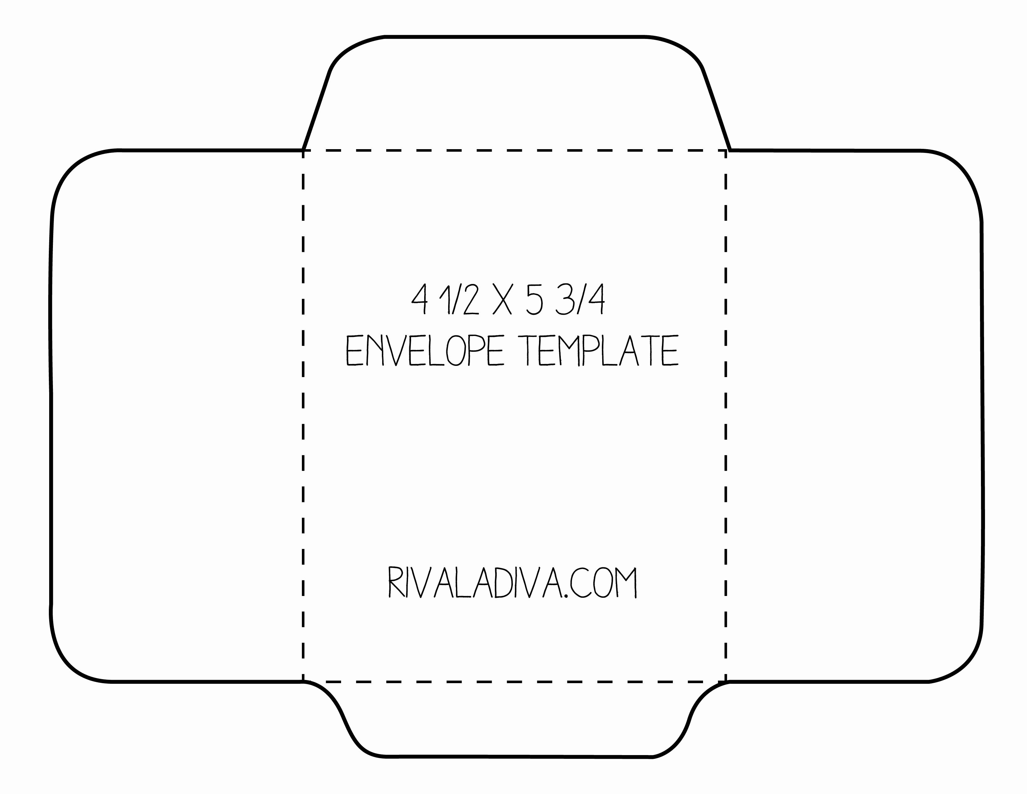 Free Envelope Printing Template Lovely Envelope Template