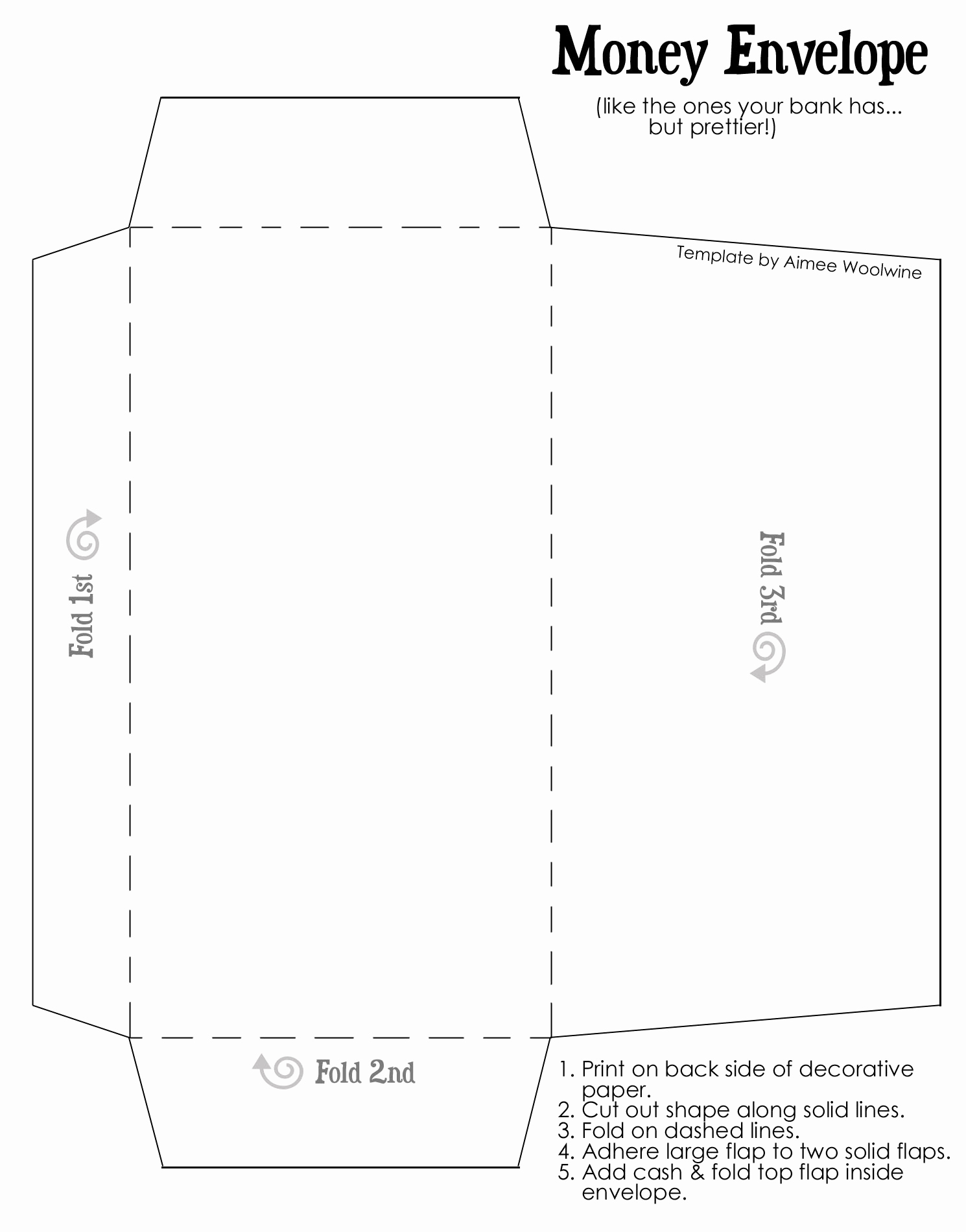 Free Envelope Printing Template Luxury Crafting In This Life