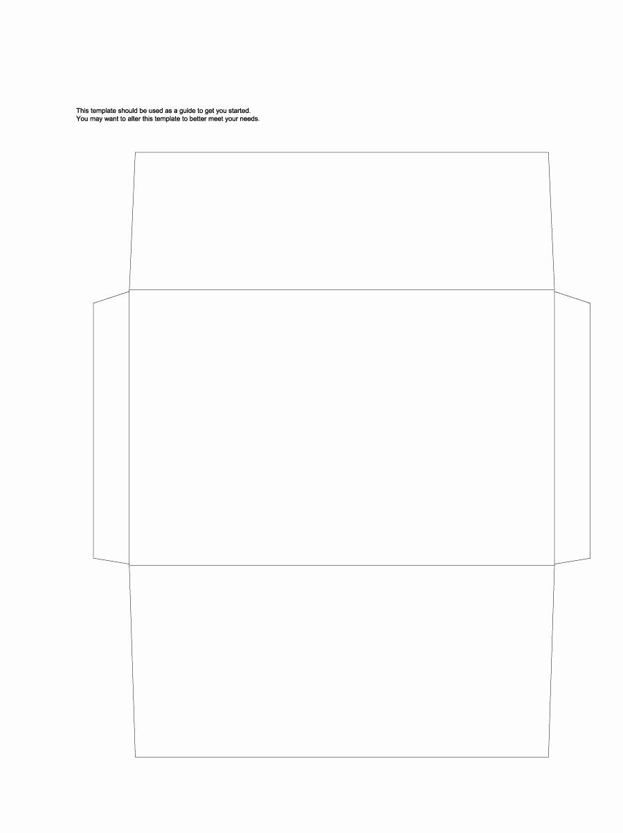 Free Envelope Printing Template New 40 Free Envelope Templates Word Pdf Template Lab