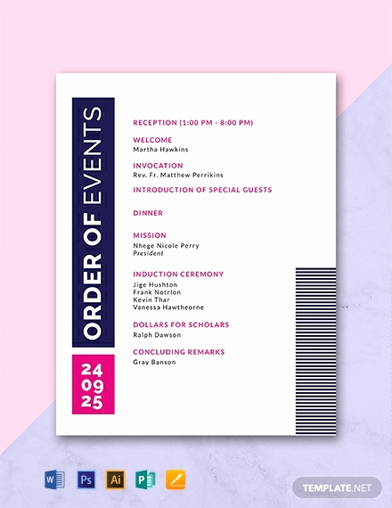 Free event Program Templates Lovely 31 Free Program Templates [download Ready Made Samples