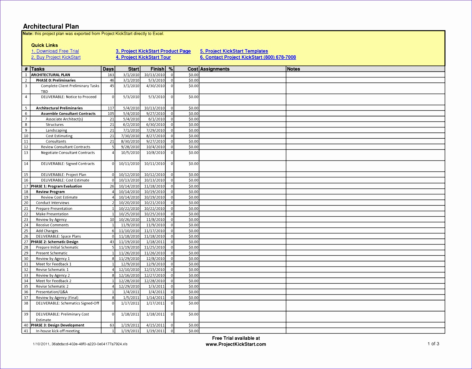 Free Excel Construction Templates New 6 Construction Schedule Template Excel Free Download