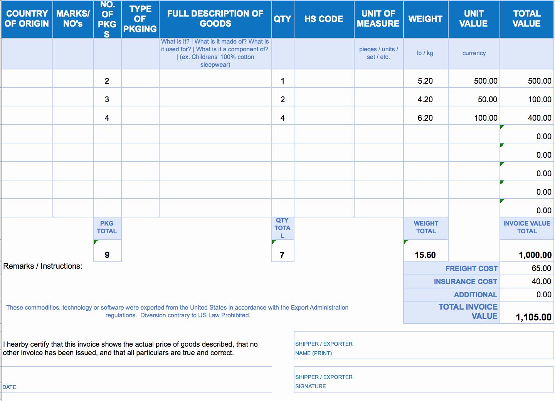 Free Excel Invoice Template Unique Free Excel Invoice Templates Smartsheet