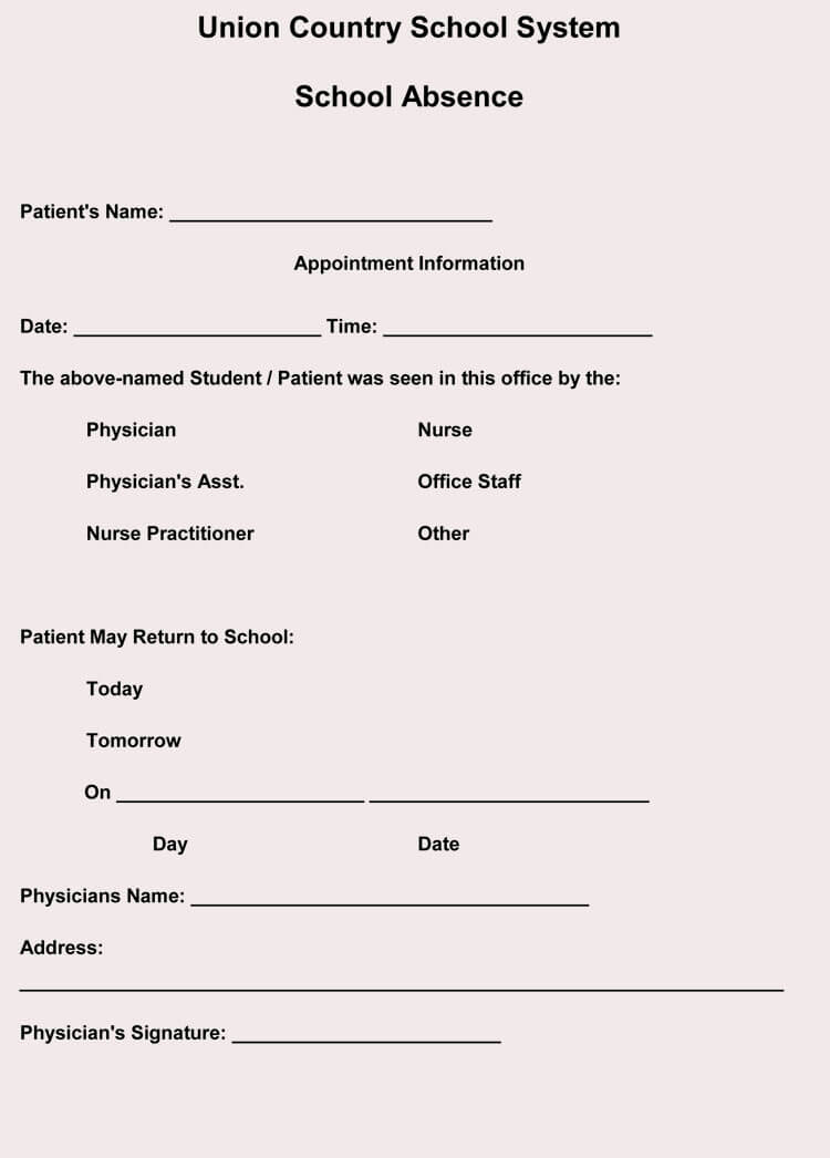 Free Fake Doctors Note Fresh Creating Fake Doctor S Note Excuse Slip 12 Templates