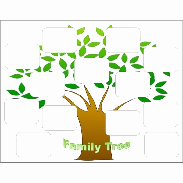 Free Family Tree Template Word Lovely Editable Family Tree Template Beepmunk