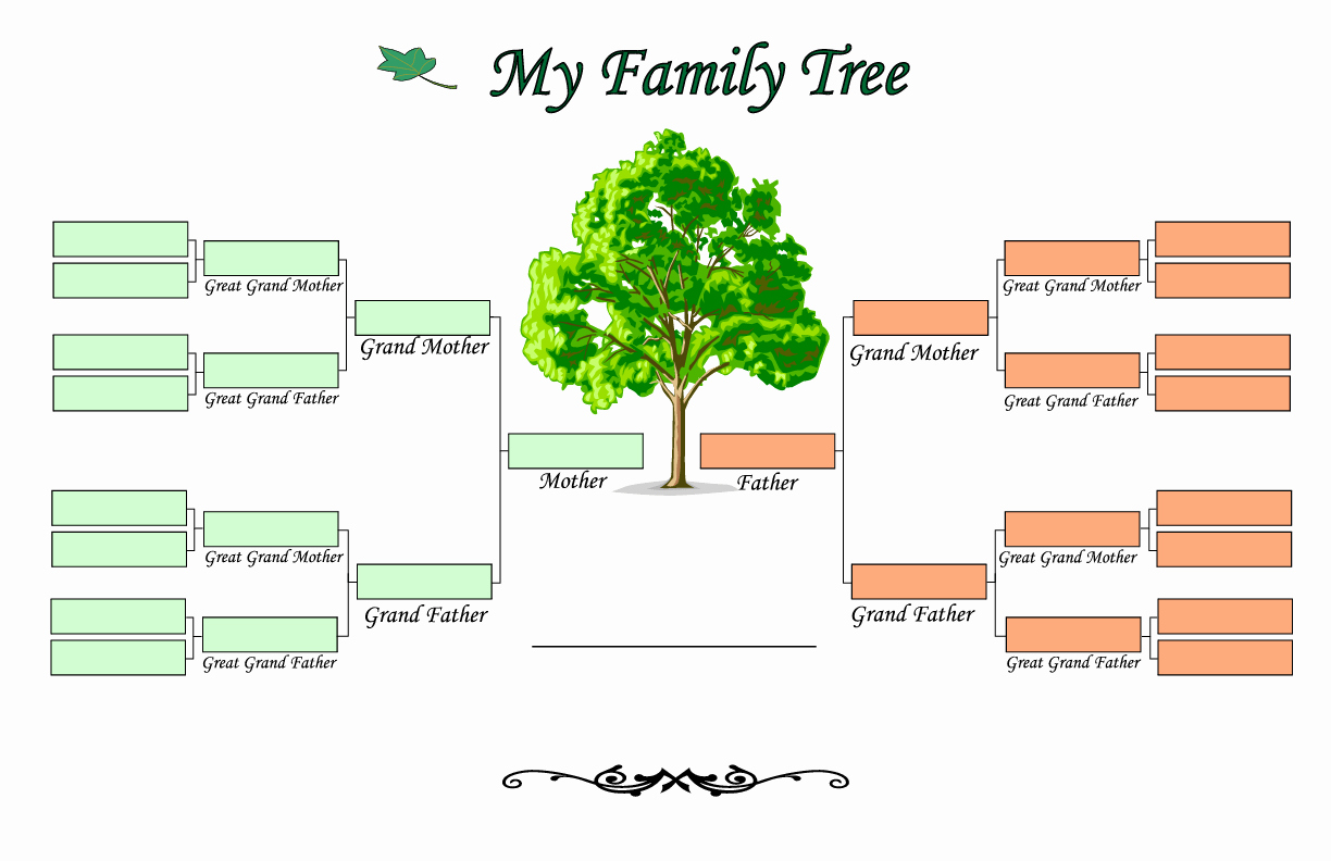 Free Family Tree Templates Elegant Family Tree Templates