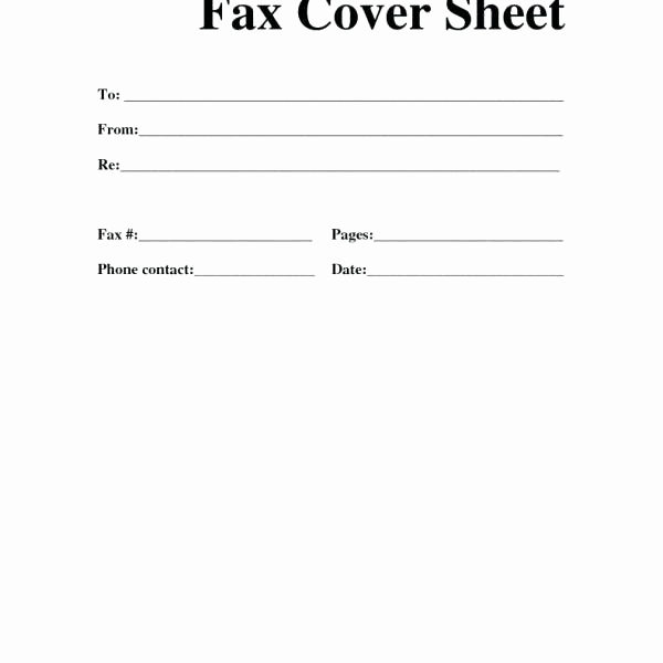 Free Fax Cover Sheets Best Of 15 Able Fax Cover Sheet