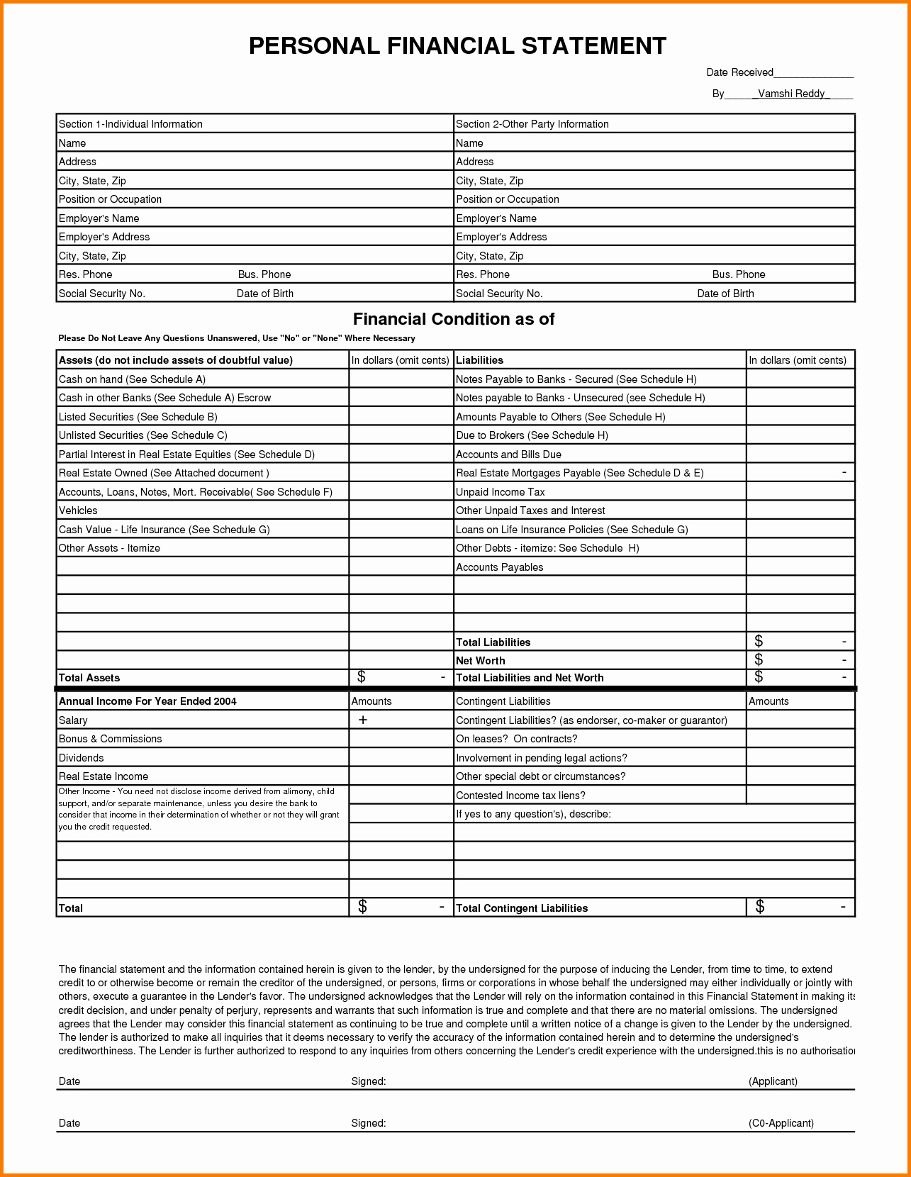 Free Financial Statement Template Awesome Free Financial Statement Template – Free Cash Flow