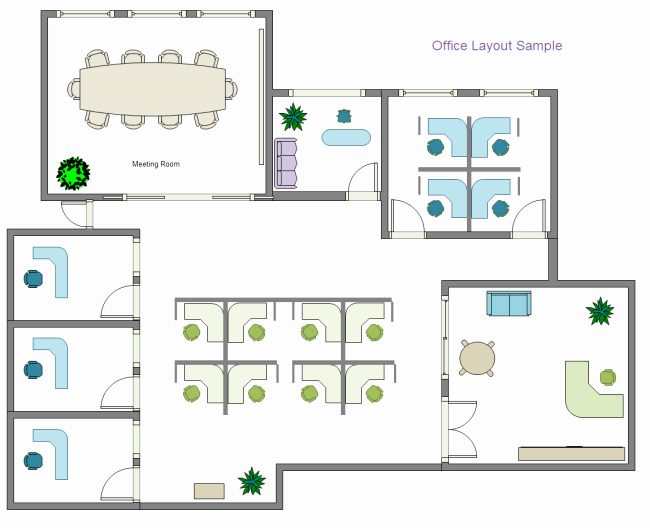 Free Floor Plan Template Inspirational Fice Layout Examples and Templates