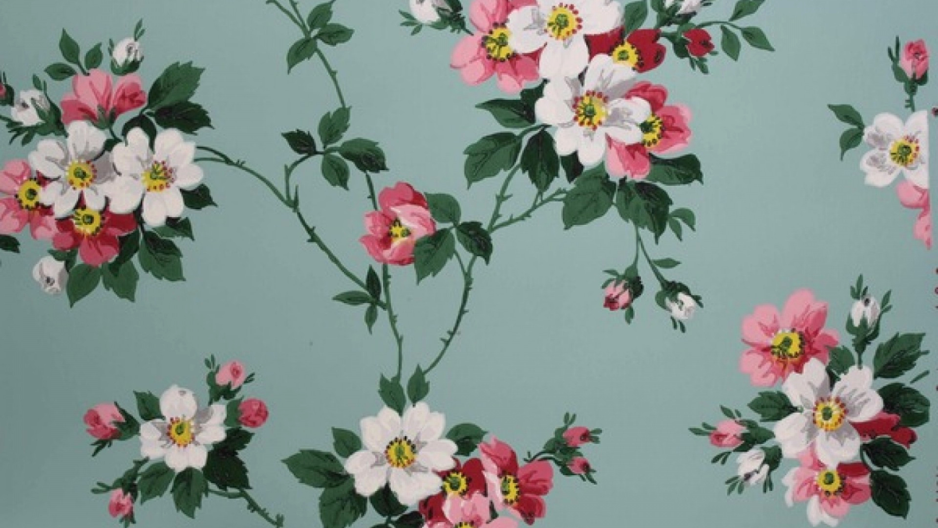 Free Flower Wall Paper Lovely Vintage Flower Wallpapers Free Download