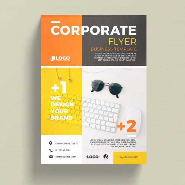 Free Flyer Template Downloads Beautiful Modern Corporate Business Flyer Template Psd File