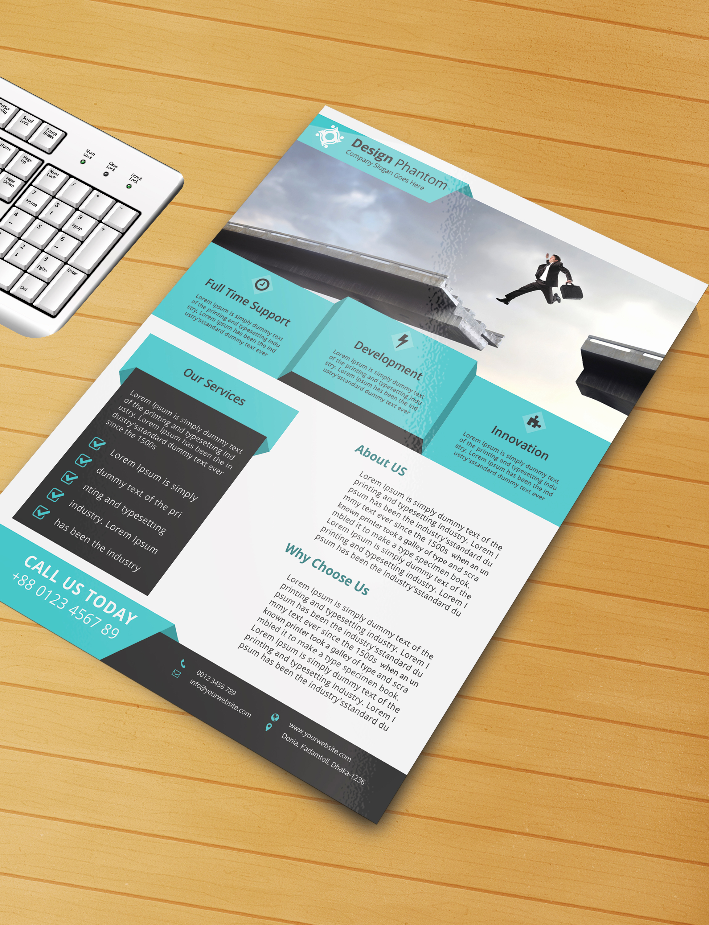 Free Flyer Template Downloads Best Of Free Flyer Psd Template Free Download by Designphantom