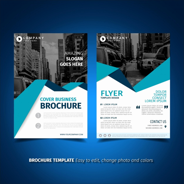 Free Flyer Template Downloads Lovely Flyer Template Design Vector