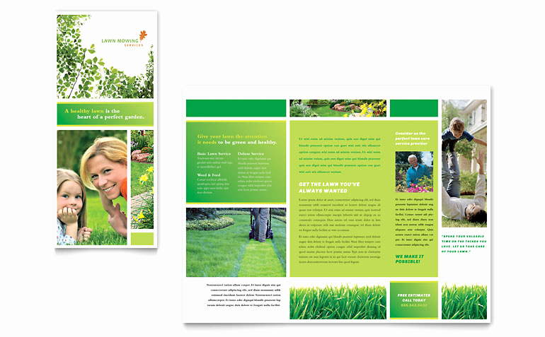 free template for brochure microsoft office