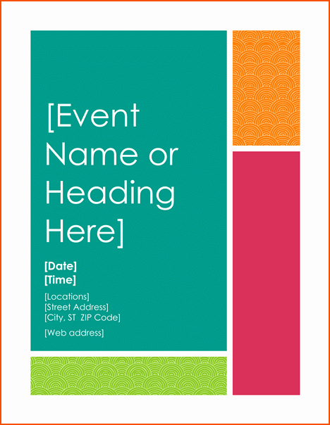 Free Flyer Templates for Word Fresh 8 Free Word Flyer Templates Bookletemplate