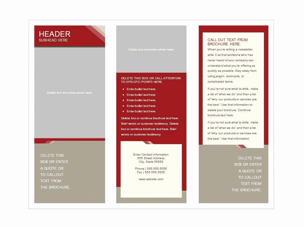 Free Flyer Templates for Word Luxury 31 Free Brochure Templates Ms Word and Pdf Free
