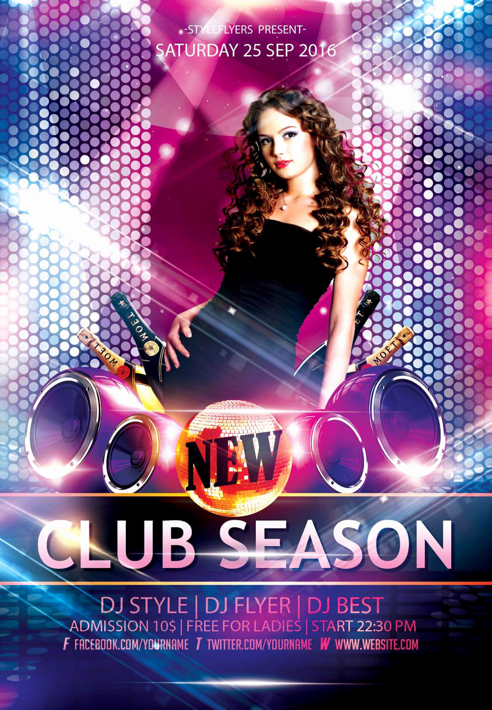 Free Flyers Templates Downloads Elegant New Party Season Free Psd Flyer Templates Graphicsfuel