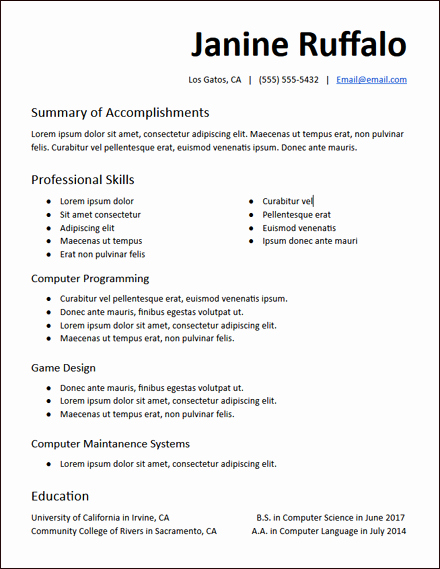 Free Functional Resume Template Lovely Functional Resume Templates Free to Download Hirepowers