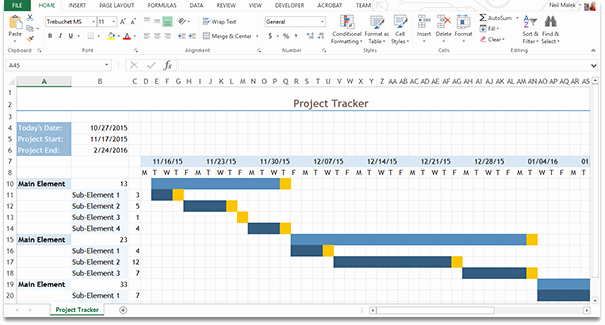 Free Gantt Chart Excel Beautiful This Able is A Sample Gantt Chart Created In