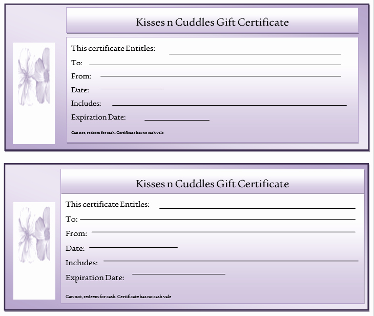 Free Gift Certificate Template Word Luxury 11 Free Gift Certificate Templates – Microsoft Word Templates
