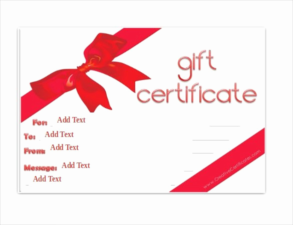 Free Gift Certificate Template Word Luxury Gift Certificate Template 42 Examples In Pdf Word In