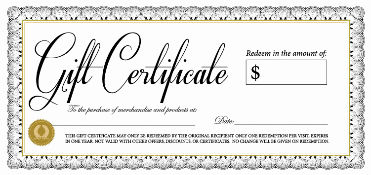 Free Gift Certificate Templates Beautiful 18 Gift Certificate Templates Excel Pdf formats
