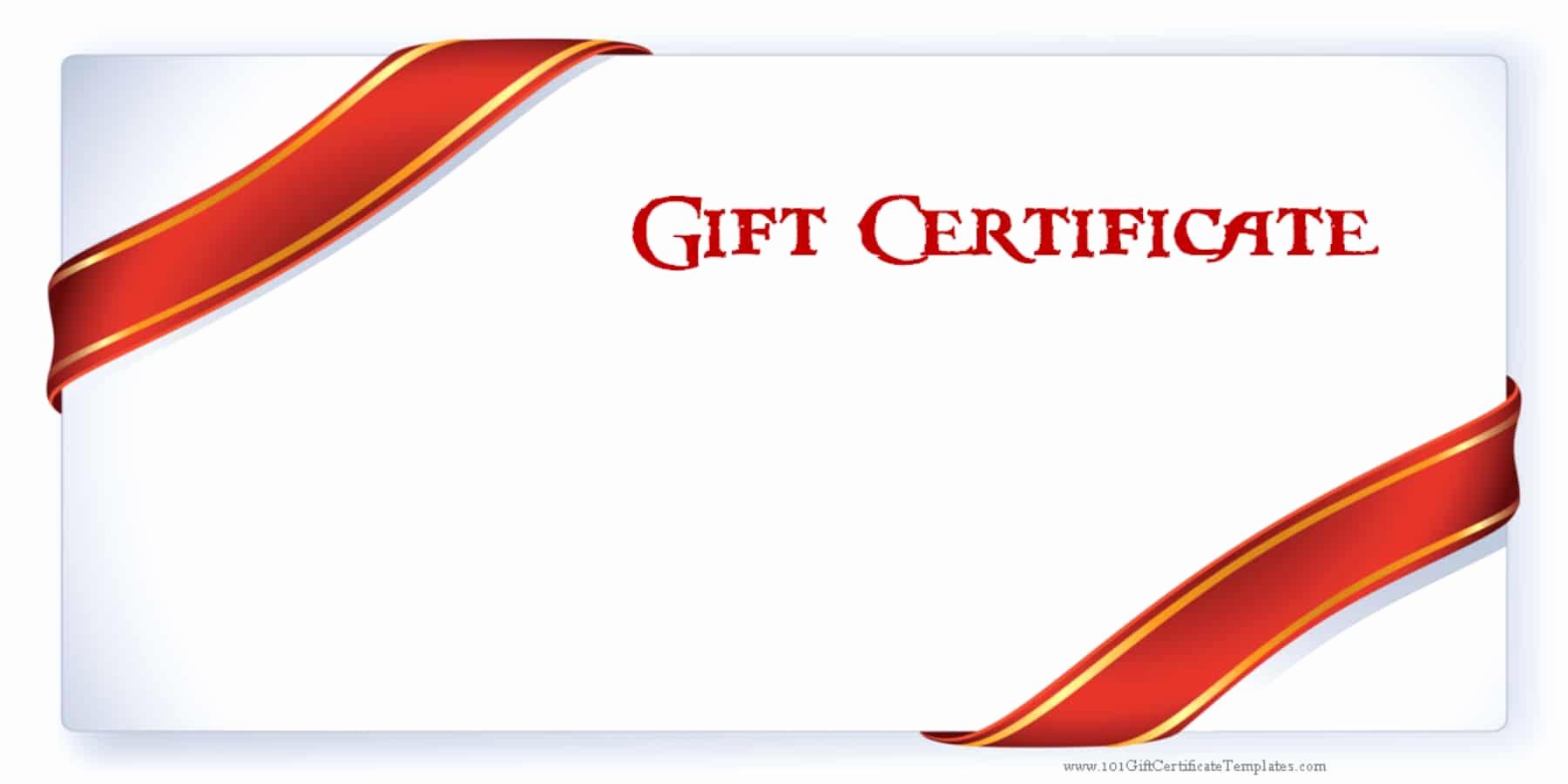 Free Gift Certificate Templates Elegant Printable Gift Certificate Templates