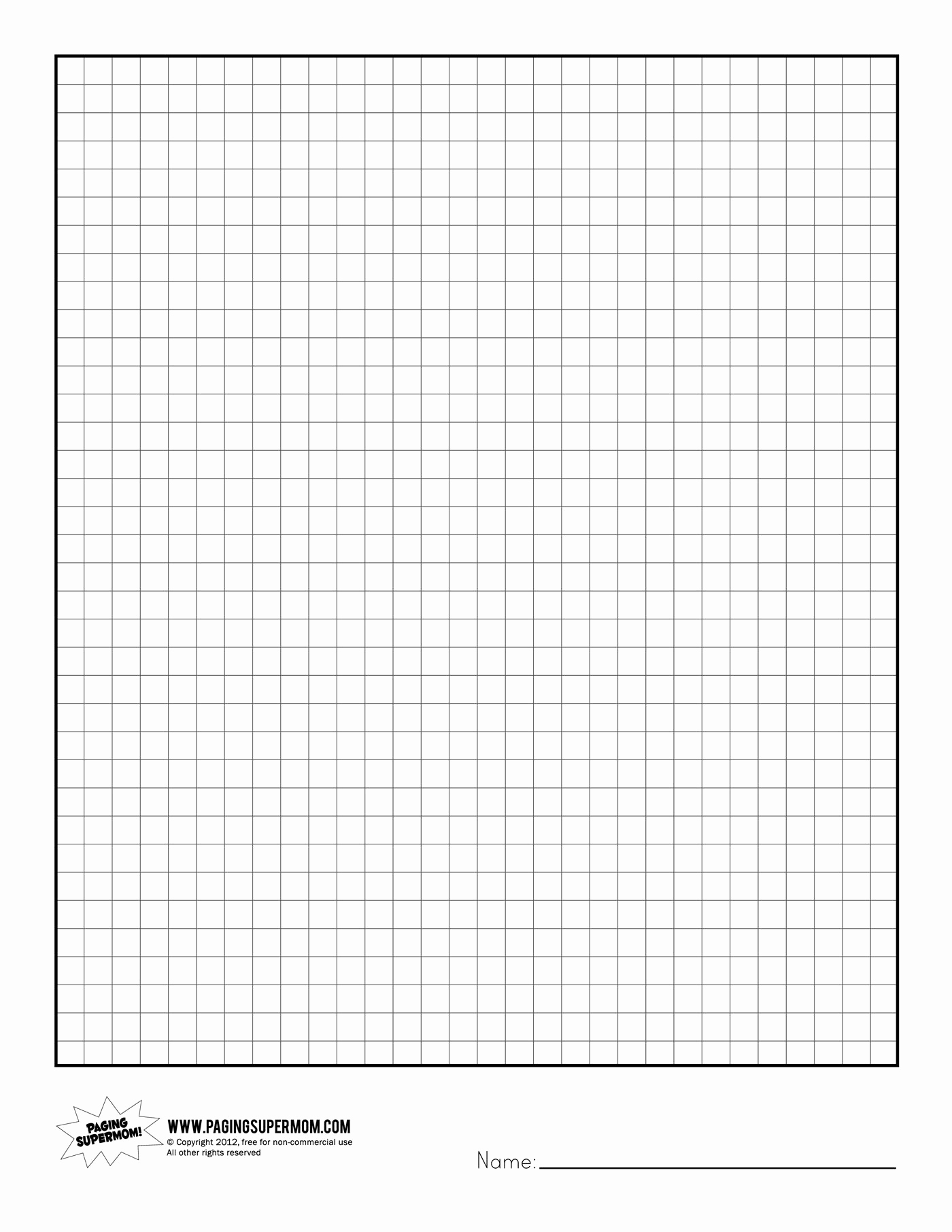 Free Graph Paper Template Luxury Printable Graph Paper Healthy Eating