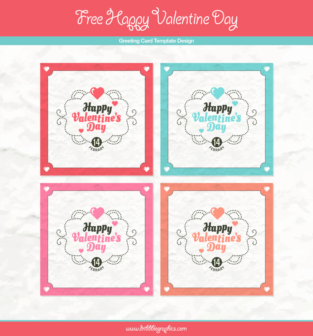Free Greeting Card Templates Best Of Free Happy Valentine Day Greeting Card Template Design