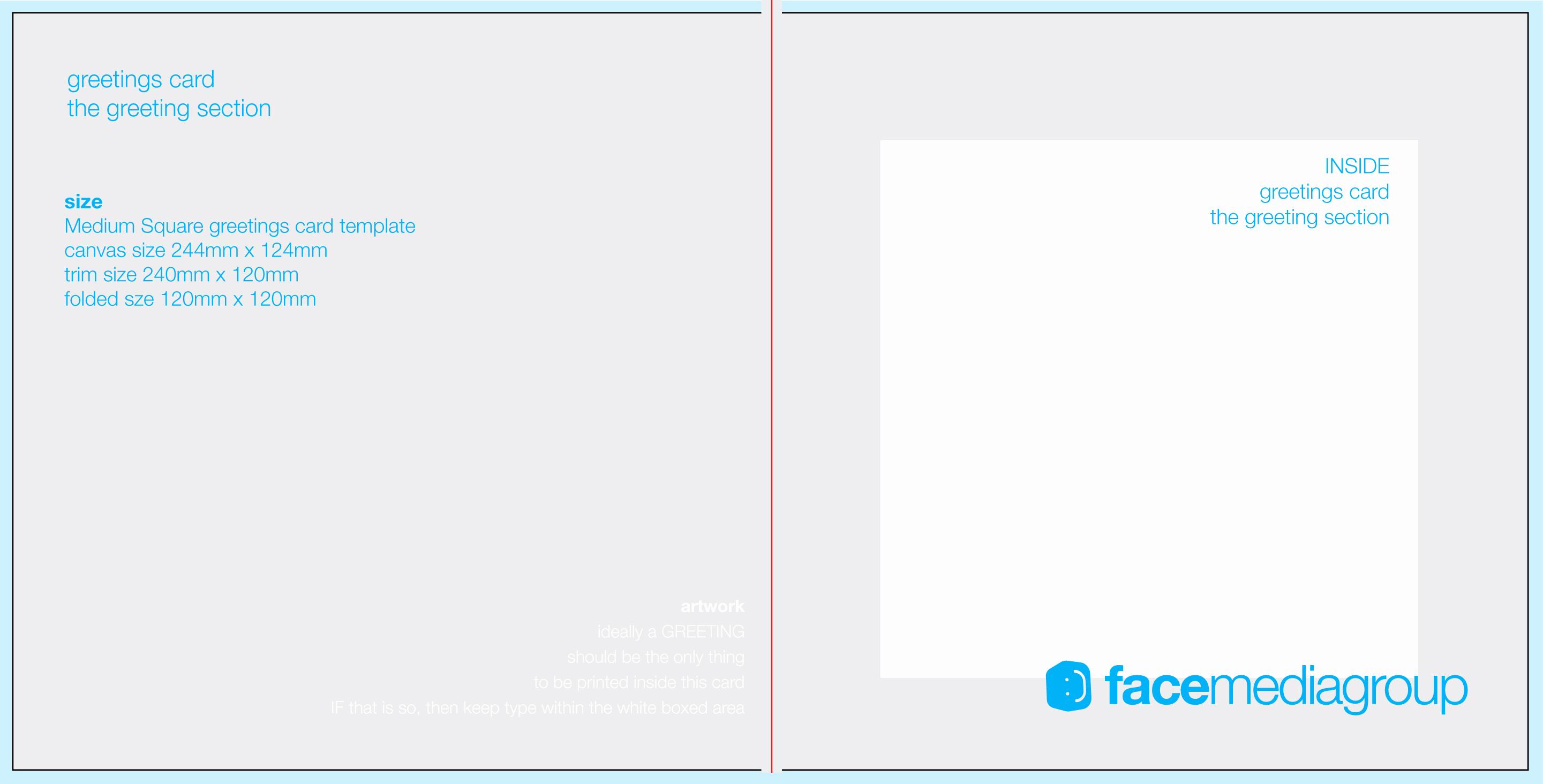 Free Greeting Card Templates Elegant Free Blank Greetings Card Artwork Templates for Download