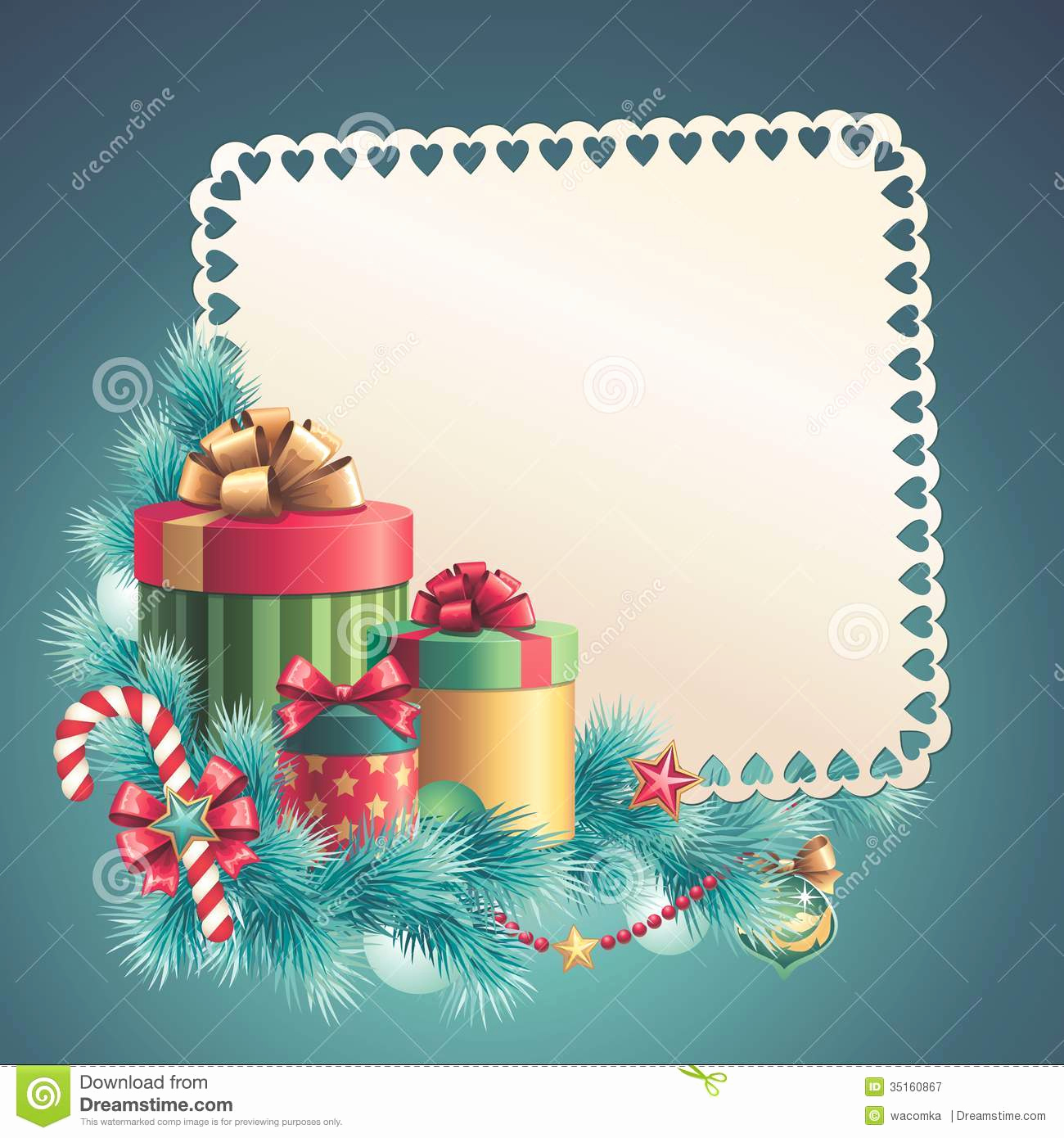 Free Greeting Card Templates Inspirational Christmas Gift Boxes Stack Greeting Card Stock