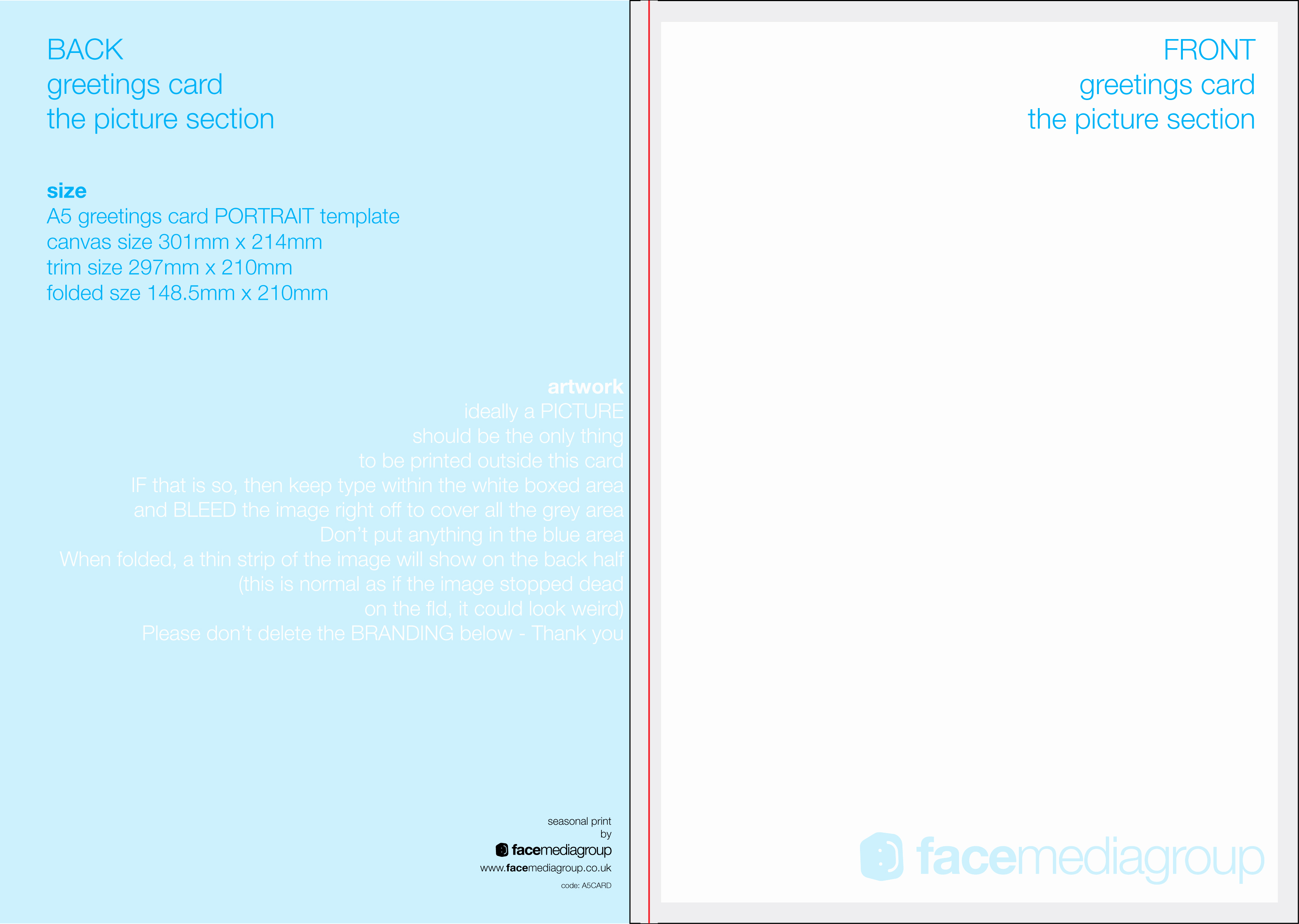 Free Greeting Card Templates Inspirational Free Blank Greetings Card Artwork Templates for Download