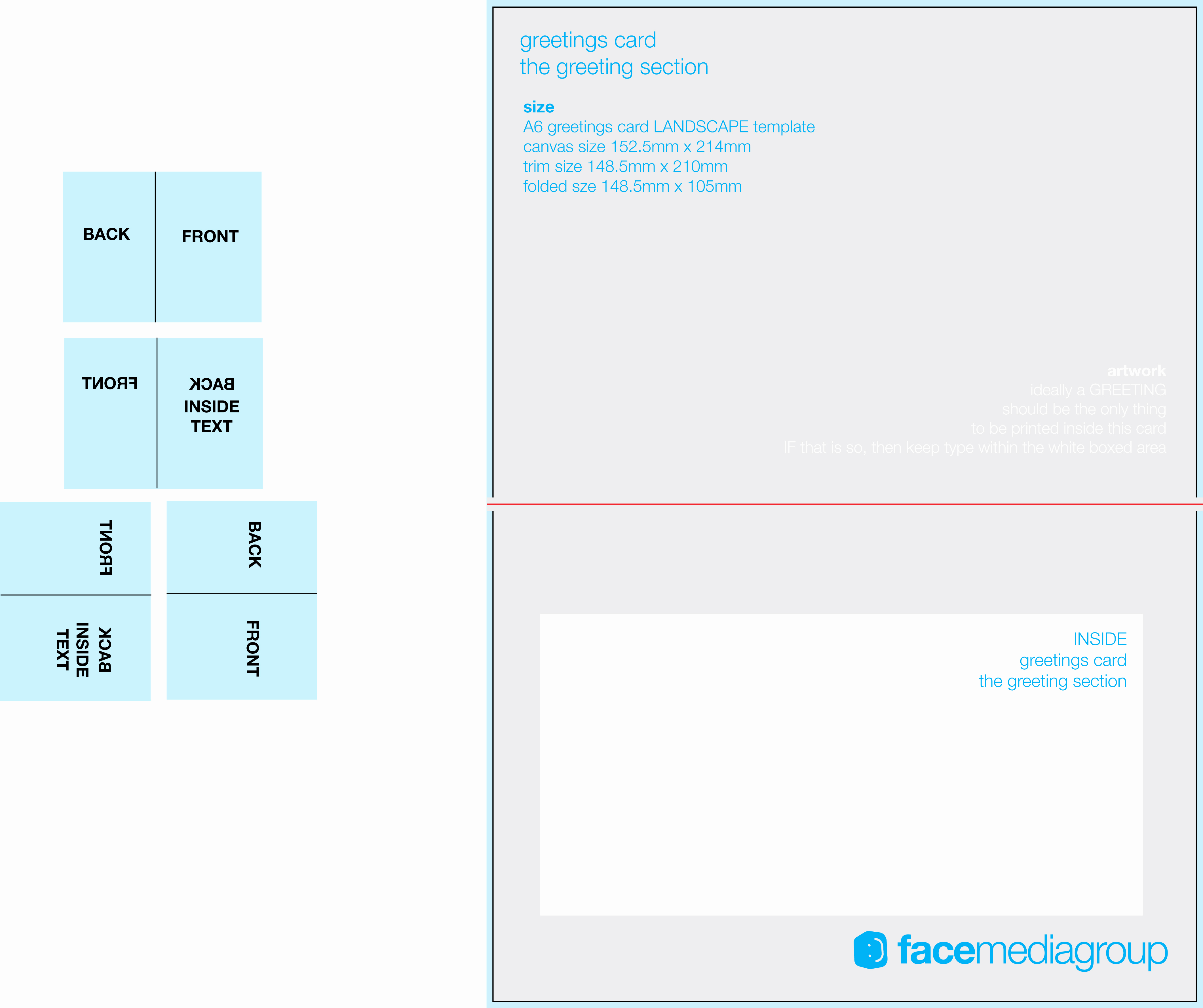 Free Greeting Card Templates Unique Free Blank Greetings Card Artwork Templates for Download